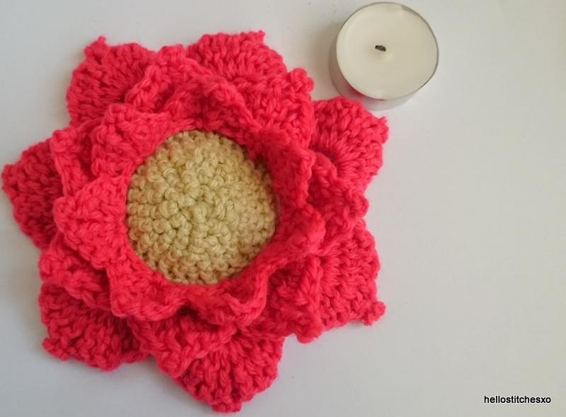lotus crochet free pattern