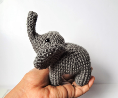 amigurumi elephant crochet free pattern