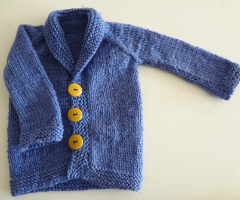 Knit newborn sweater