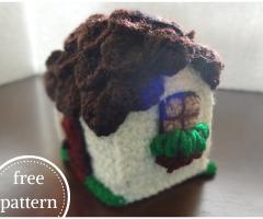 Amigurumi house free pattern