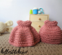 Crochet dress for dolls