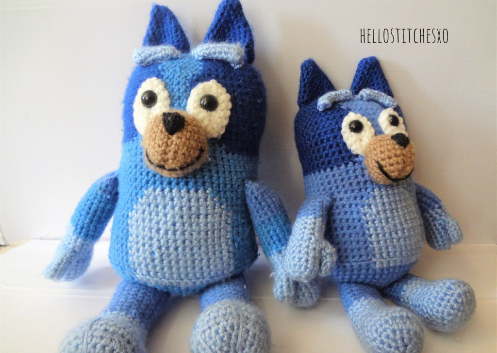 Bluey Bingo crochet pattern