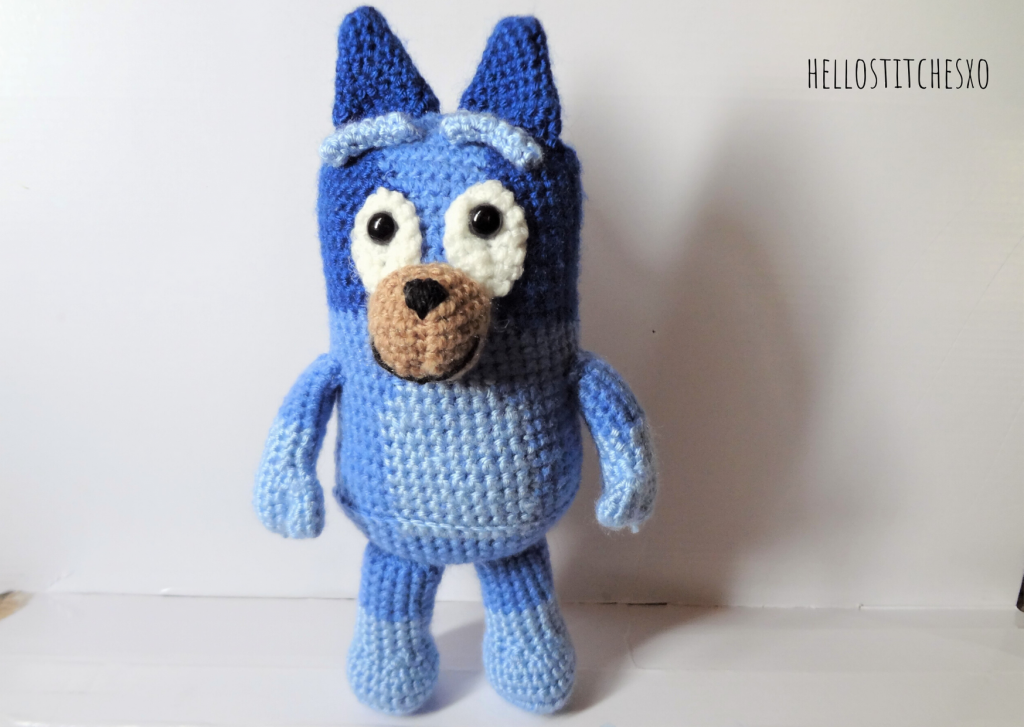 Bluey crochet free pattern