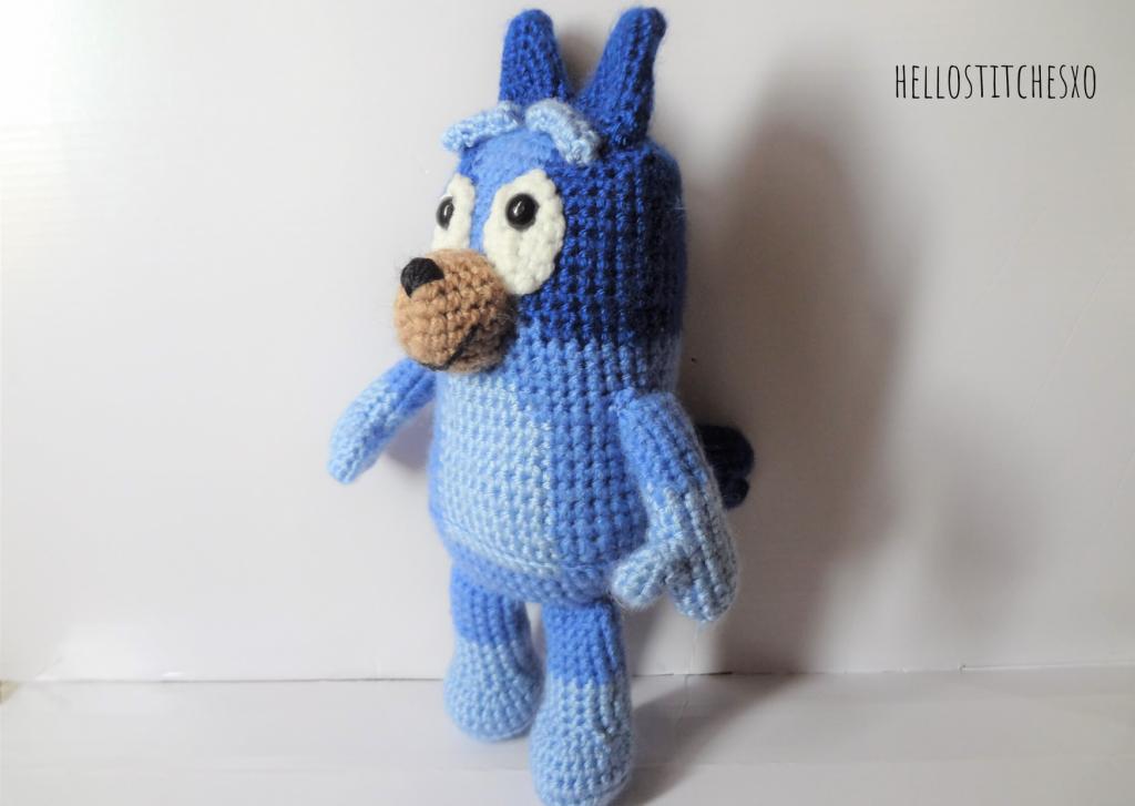 Bluey amigurumi free pattern