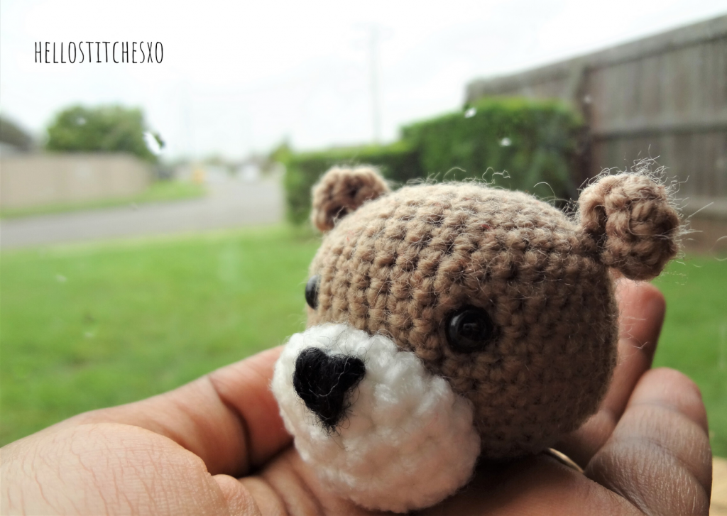 easy amigurumi bear pattern