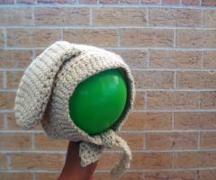 Bunny Ears baby bonnet | Free crochet pattern