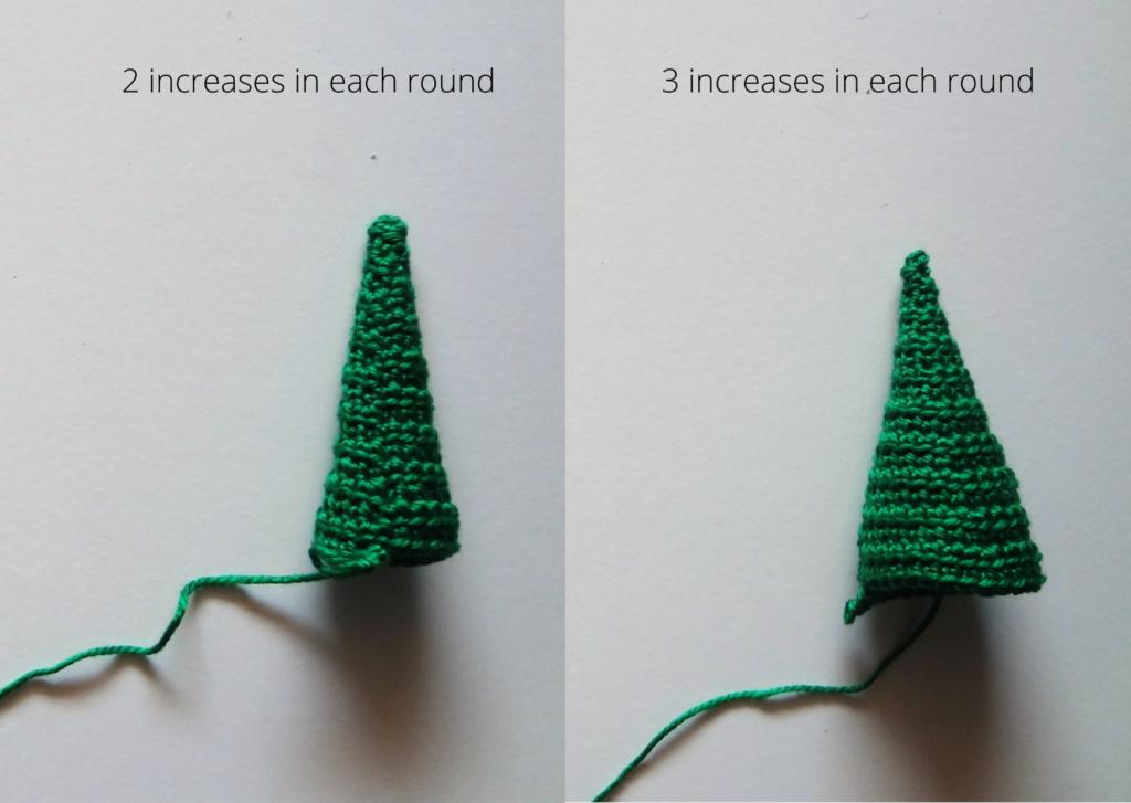 Crochet cone pattern
