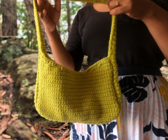 simple single crochet handbag pattern