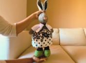 knit cardigan for amigurumi dolls