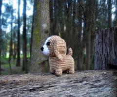 small dog amigurumi free pattern